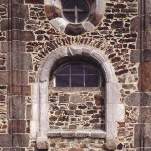 Okno hradní kaple sv. Erharda a Uršuly, Chebský hrad