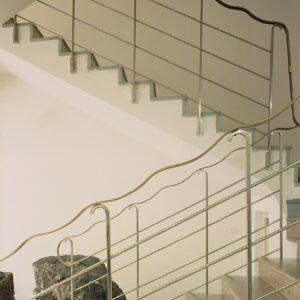 Schodiště v interiéru muzea, Nová Paka