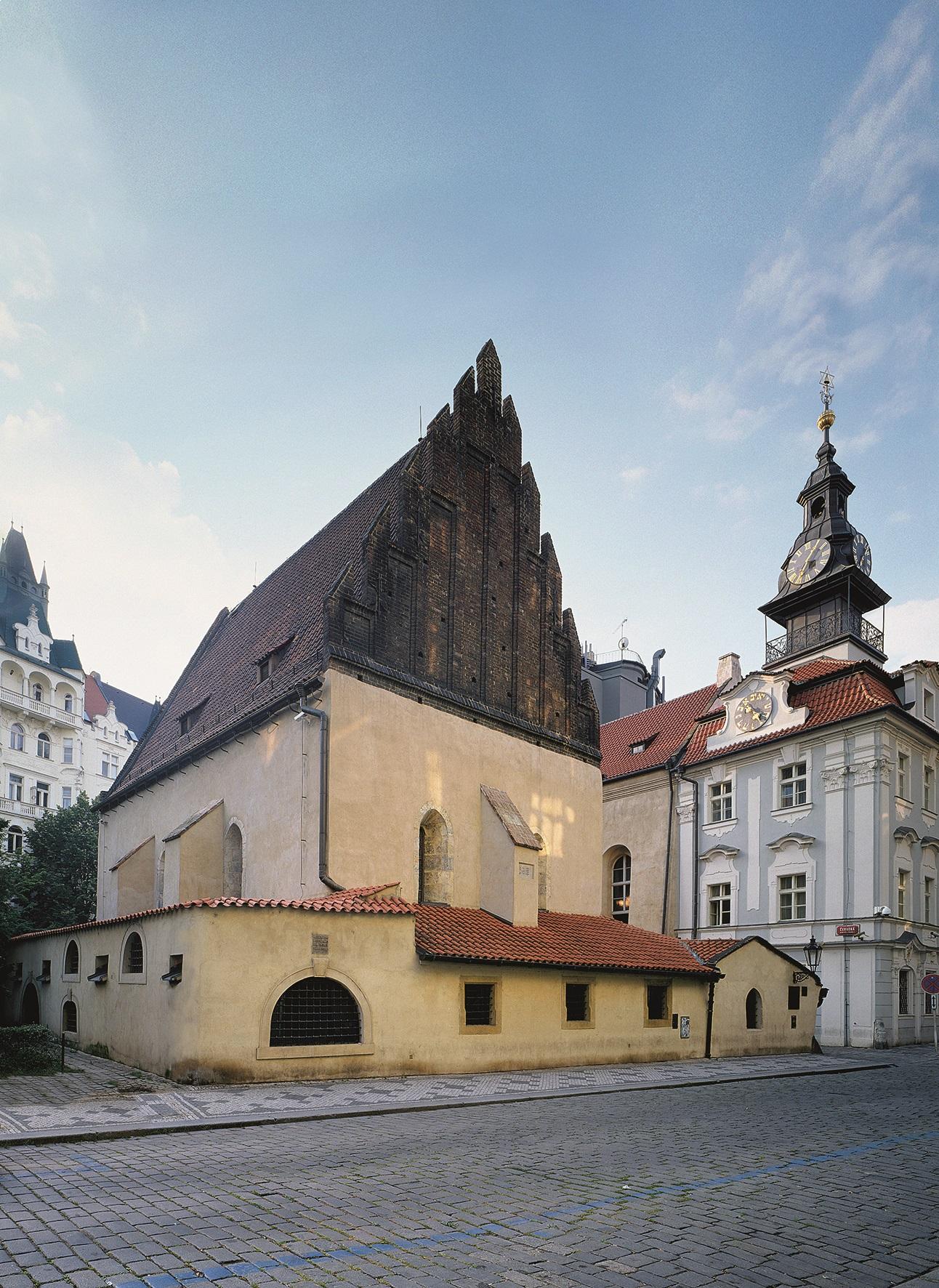 Staronová synagoga s Židovskou radnicí, Praha 1
