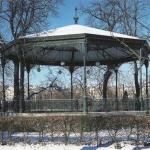 Žofín, Praha 1 – hudební altán po rekonstrukci
