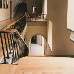 Karolinum, hlavní schodiště k Velké aule