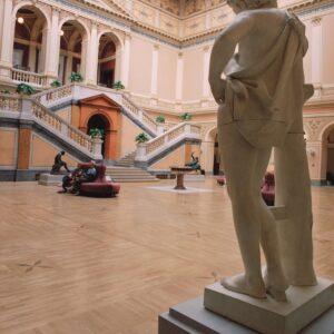 Řešení interiéru dvorany Rudolfina, Praha 1