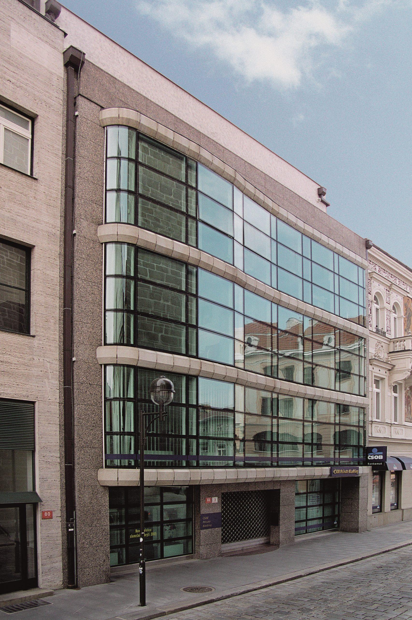 Novostavba administrativní budovy firmy Dvořák v Českých Budějovicích