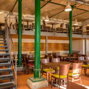 Olivův pivovar, interiér