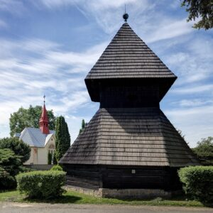 Roubená zvonice, Horní Stakory