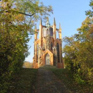 Krásný dvůr, rekonstrukce novogotické rozhledny