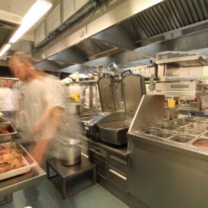 Restaurace U Medvídků, nově vybavená kuchyně