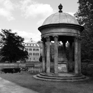 Pavilon v zámecké zahradě, Jílové