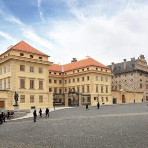 Schwarzenberský a Salmovský palác, Hradčanské náměstí, Praha 1