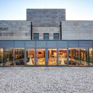 Památník Vítkov, nově vytvořená kavárna na střeše