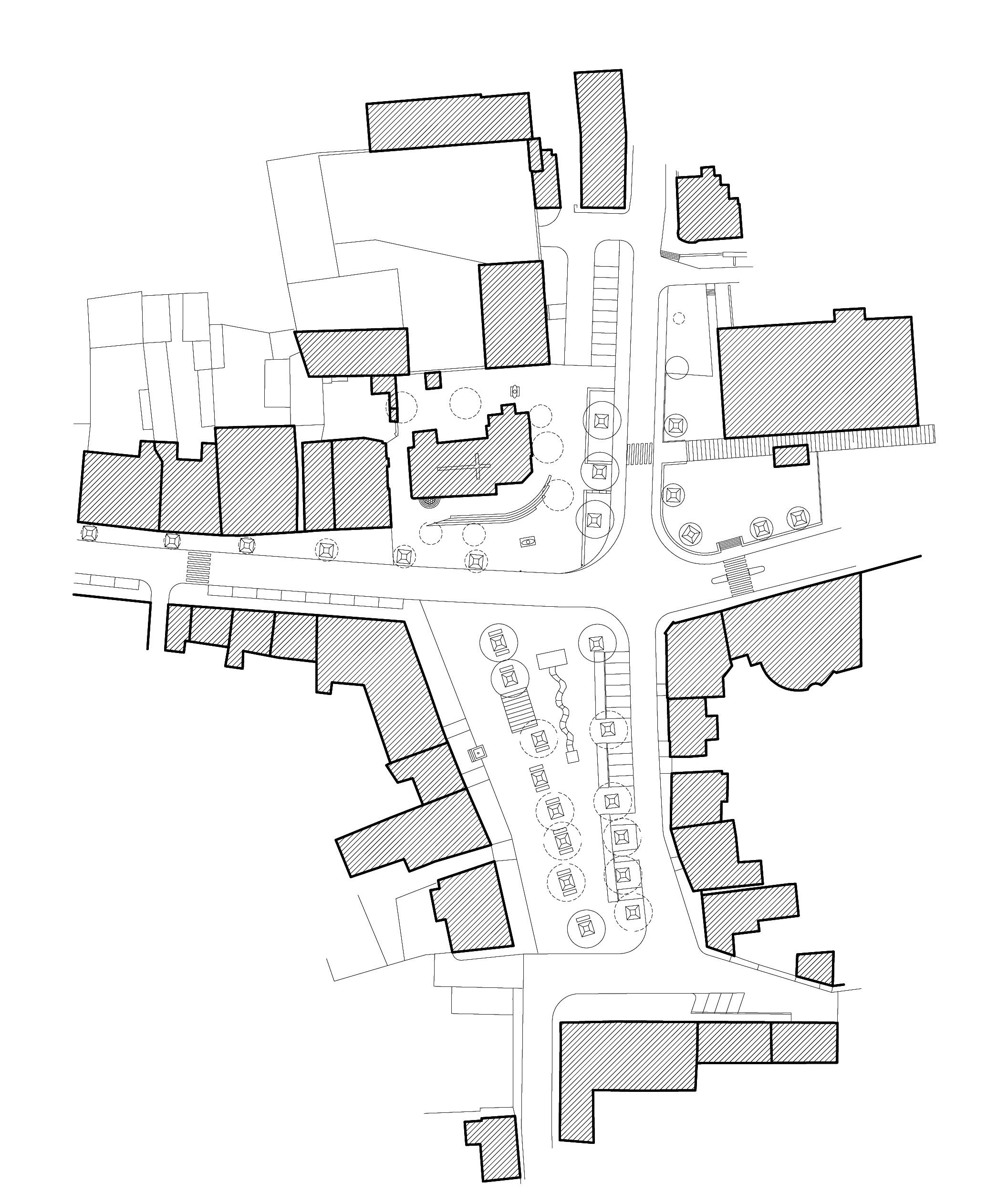 Úprava náměstí v Unhošti