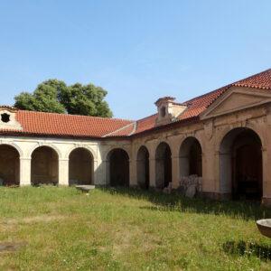 Arkády, původní stav, Bazilika Nanebevzetí ve Staré Boleslavi