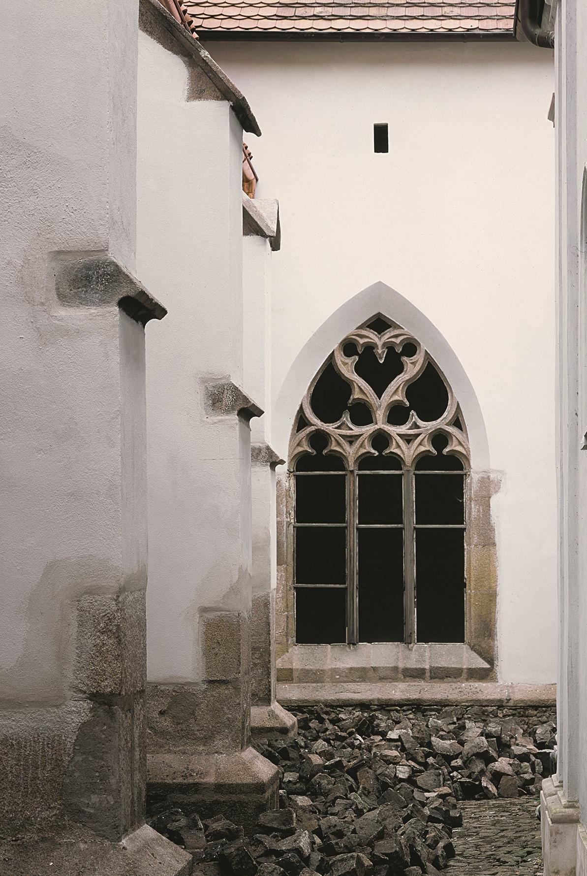 Ambit kláštera minoritů