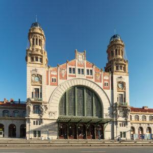 Hlavní nádraží, obnova vnějšího pláště historické budovy